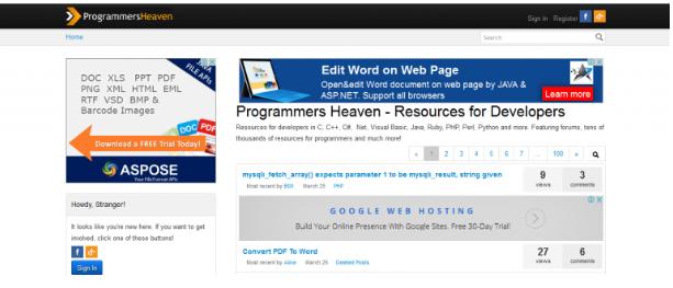 tools lập trình Programmers Heaven
