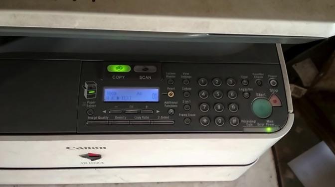 Lỗi e019 trên máy photocopy Toshiba