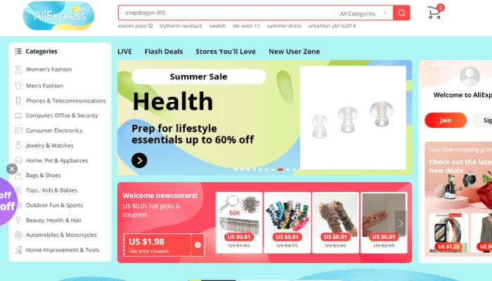 web mua hàng