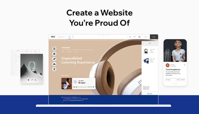 Ưu điểm của website Wix